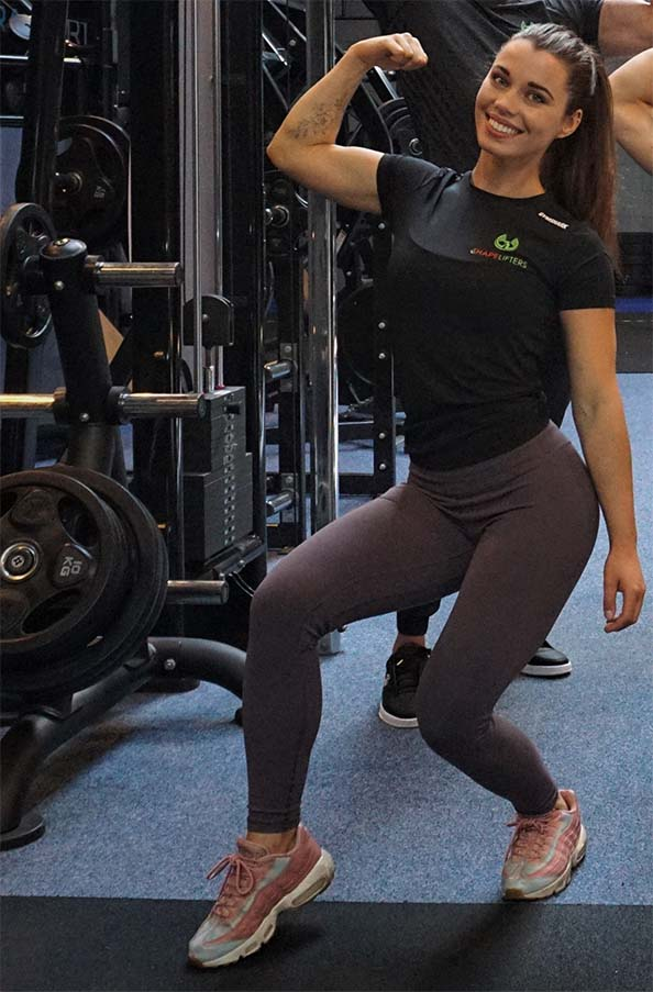 Shapelifters personal trainer jilly posing 2